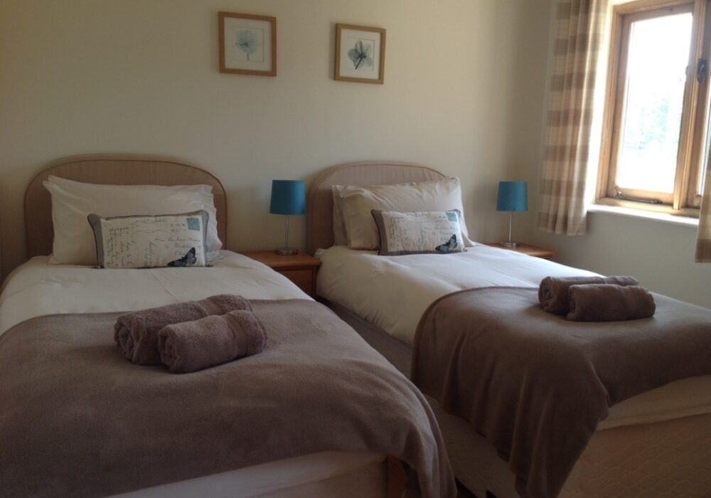 An image showing a bedroom at Apple Barn Self Catering Holiday Accommodation