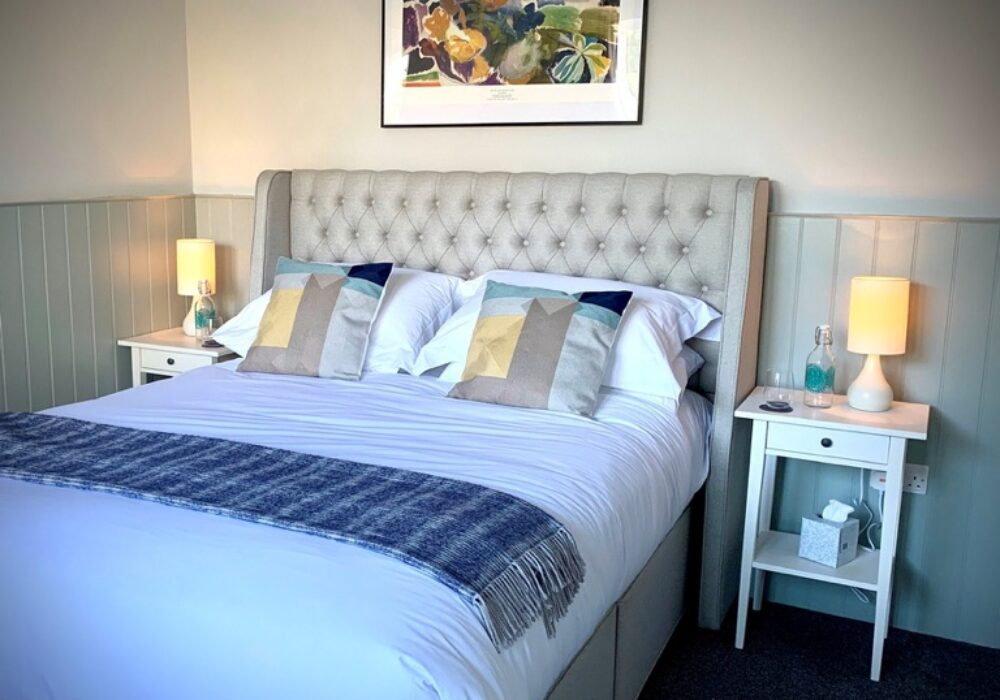 An image showing a bedroom at the Bosham Boathouse B&B