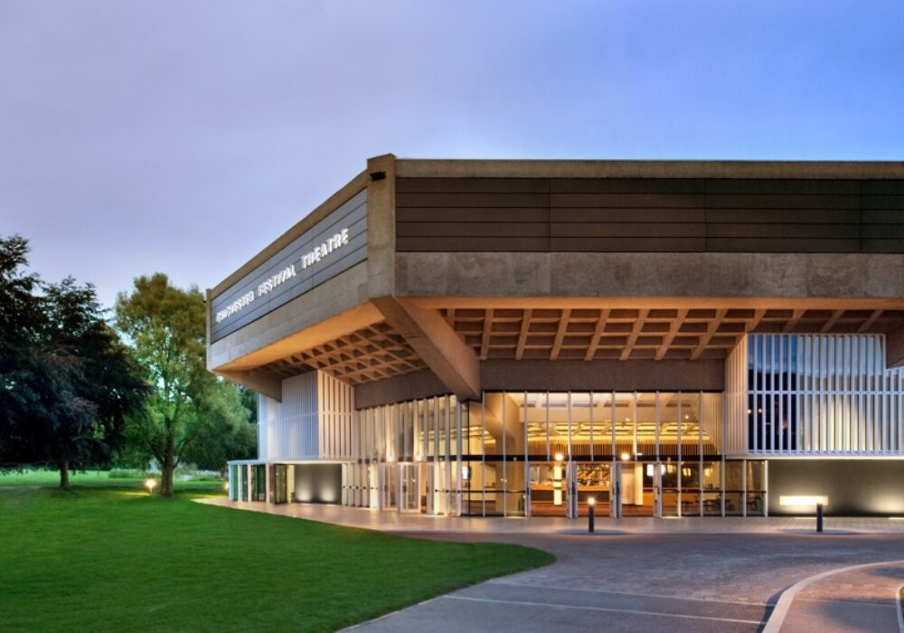 An image showing the exterior of Chichester Festival Theatre
