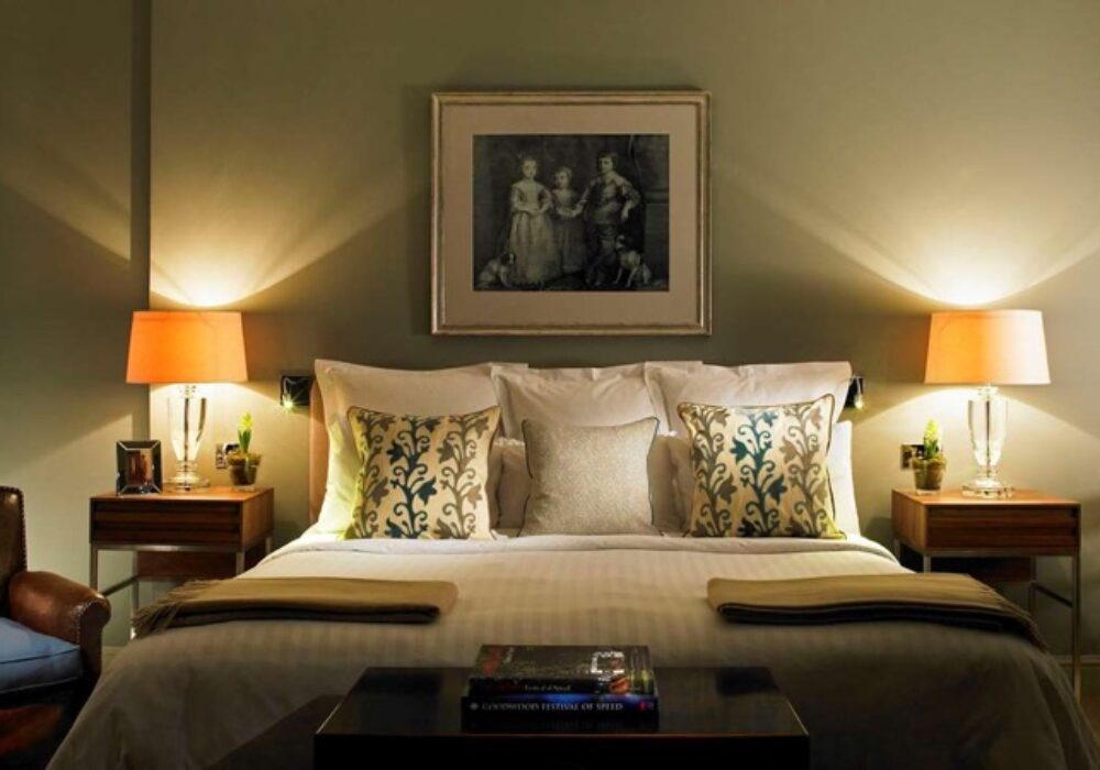 Double room at Goodwood Hotel