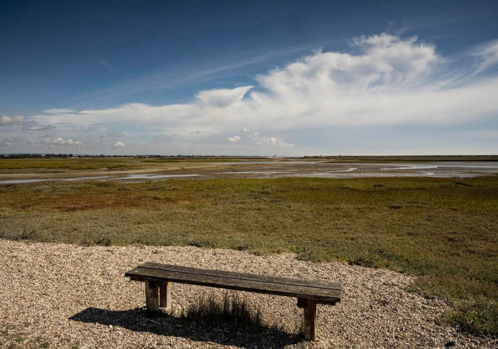 A view of Pagham Harbour from Church Norton, near Selsey