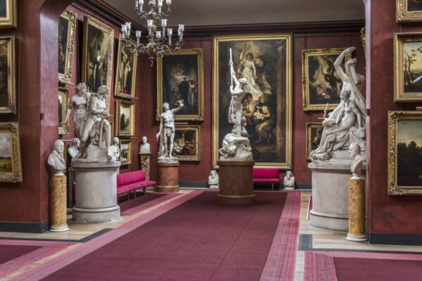 an image of the North Gallery in Petworth House