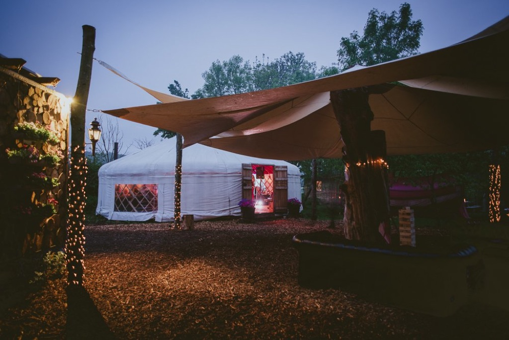 An image showing the surroundings at Plush Tents Glamping