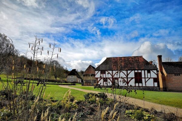 An image showing one of the historic buildings at Weald & Downland Living Museum