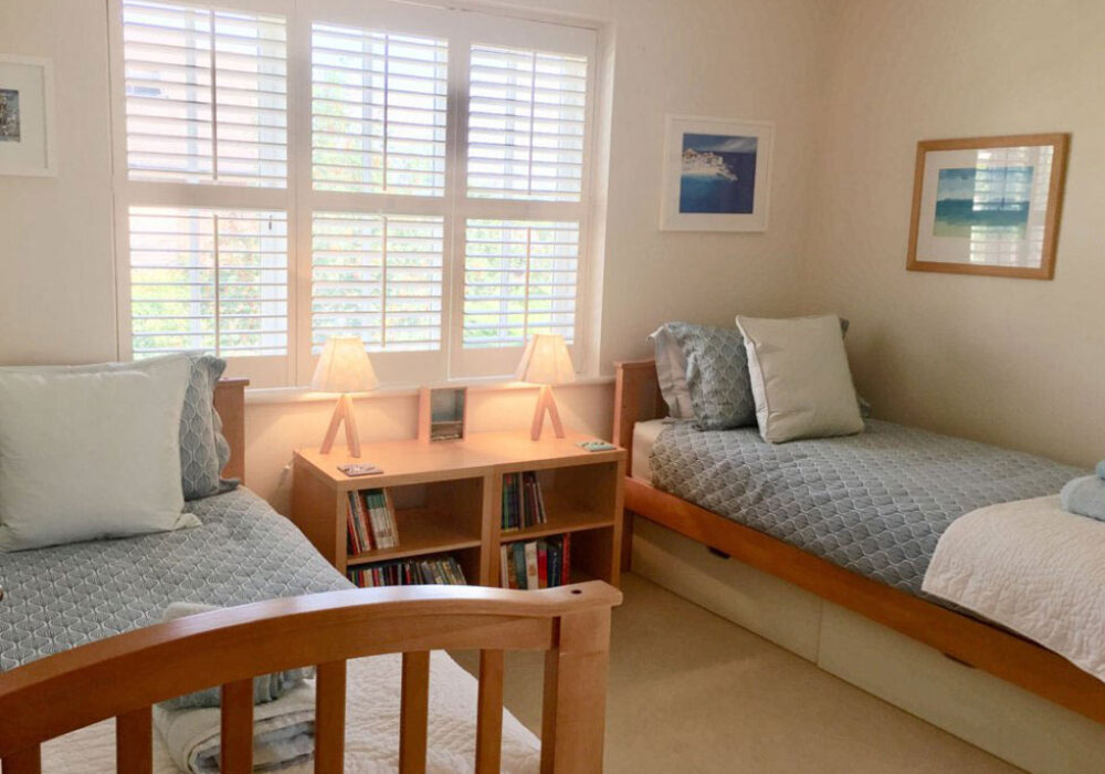 Twin room at April Gardens