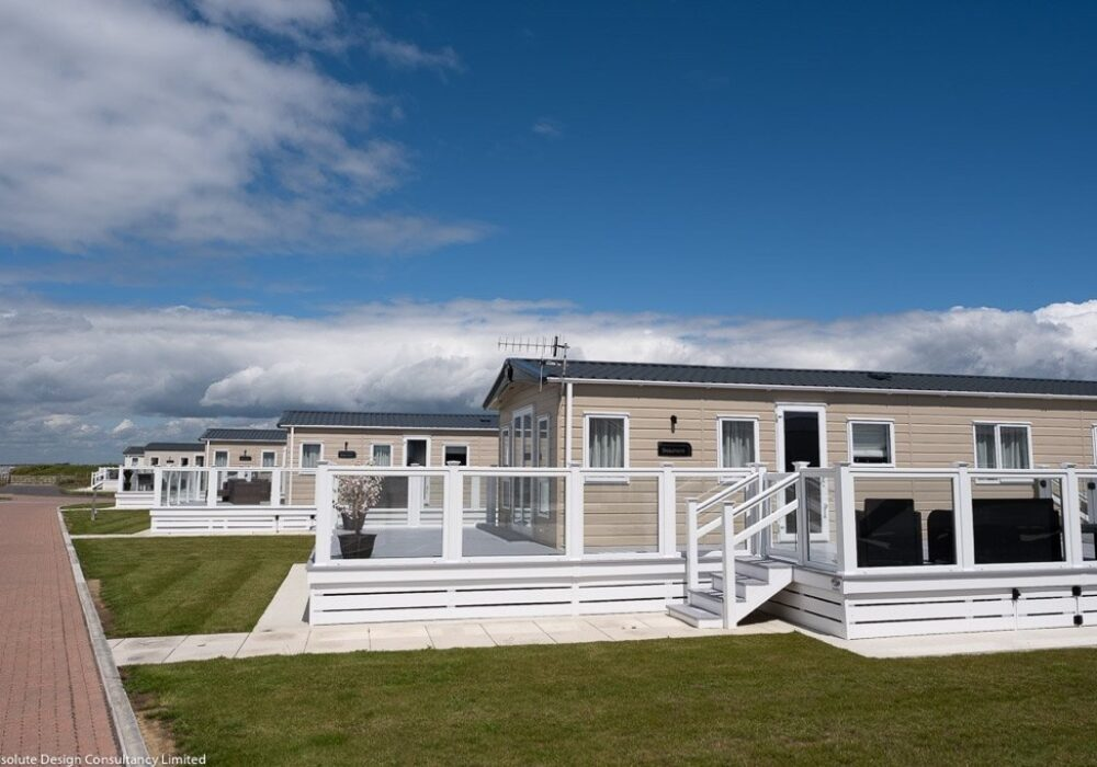 An image showing a holiday caravan at Bunn Leisure holiday park, Selsey