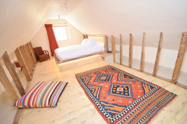 Double bedroom at Corner Cottage