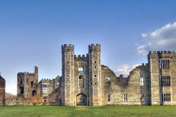 Cowdray Castle on Cowdray Estate