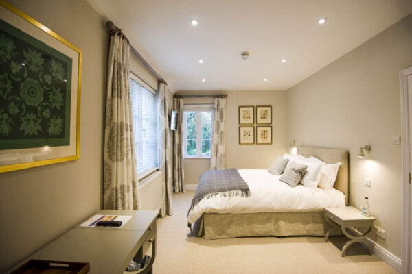 Double room at Cowdray Lodge