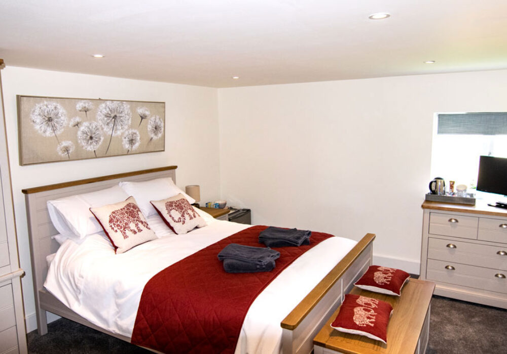 Double room at The Cricketers
