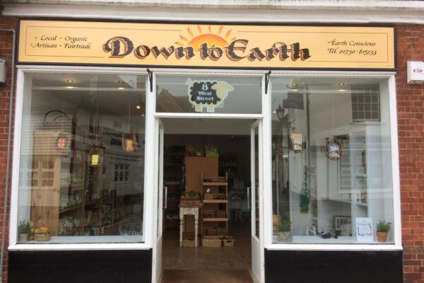 Down to Earth shop exterior
