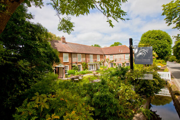An image of the Millstream Hotel in Bosham West Sussex