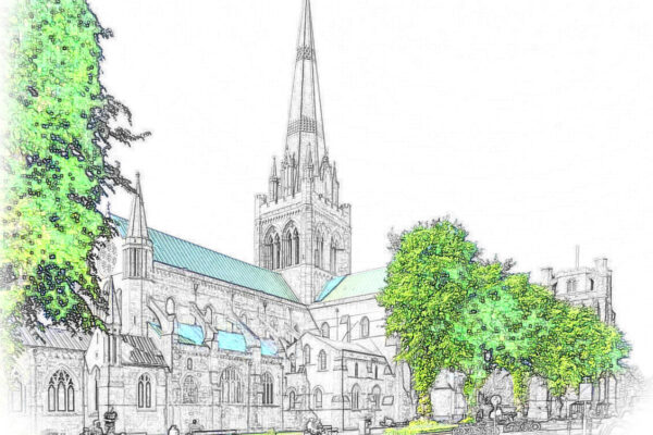 Illustration of Chichester Cathedral