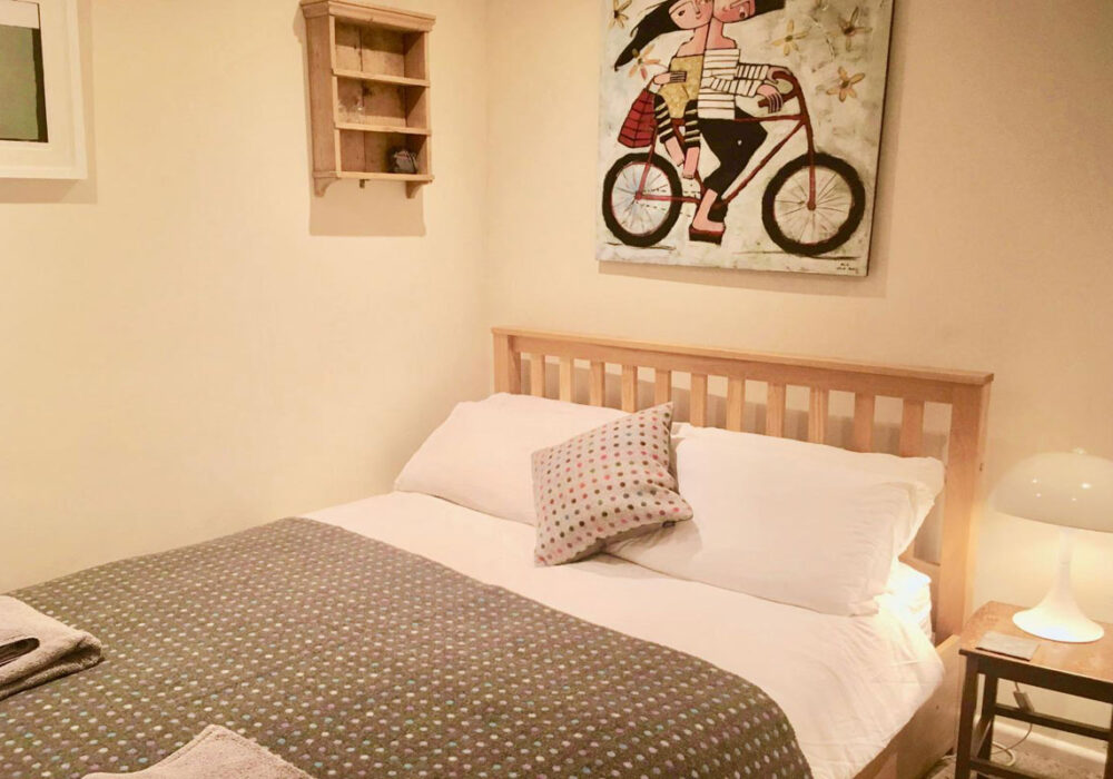 Double bedroom at Lavender Row