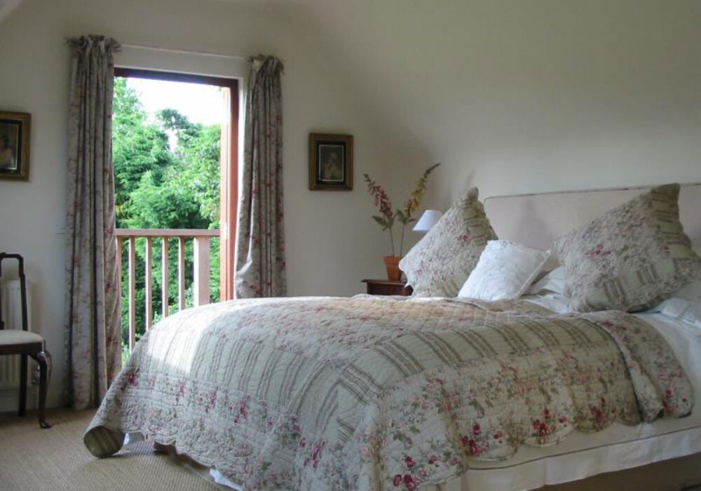 Double room with balcony at Martins Cottages