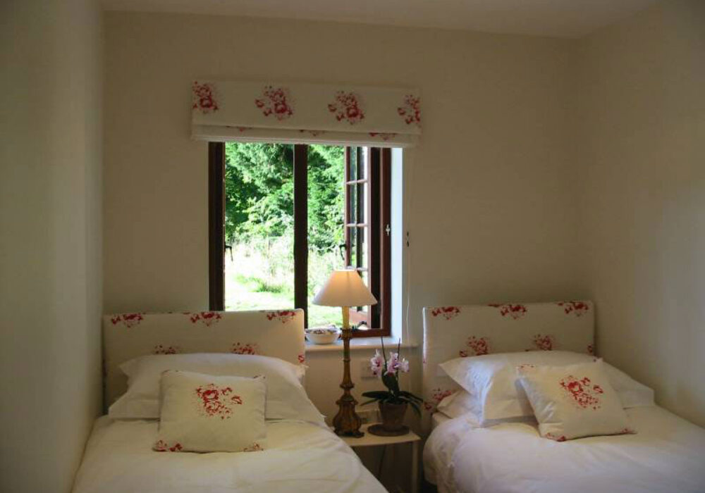 Twin room at Martins Cottages