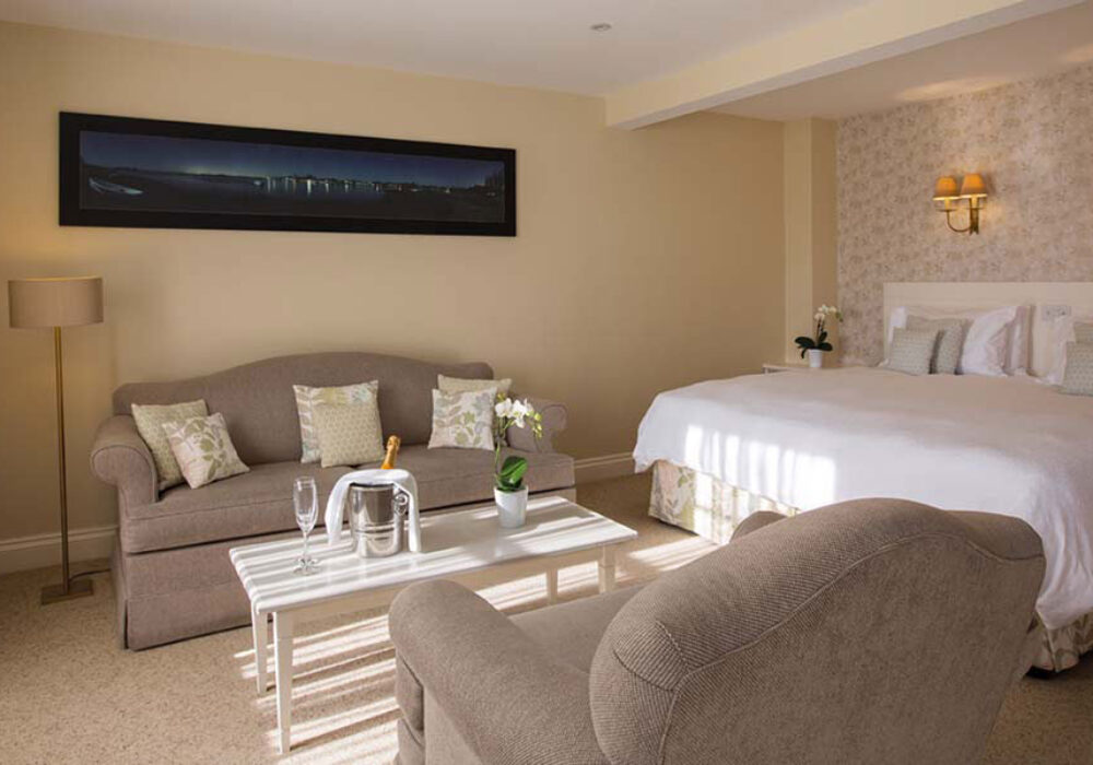 Large double room at Millstream Hotel
