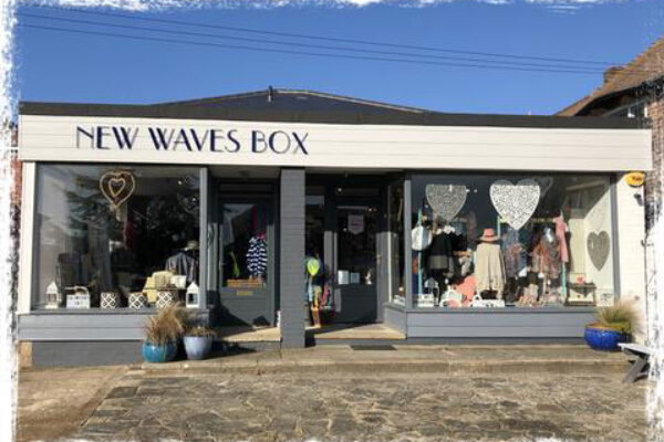 New Waves Box shop front