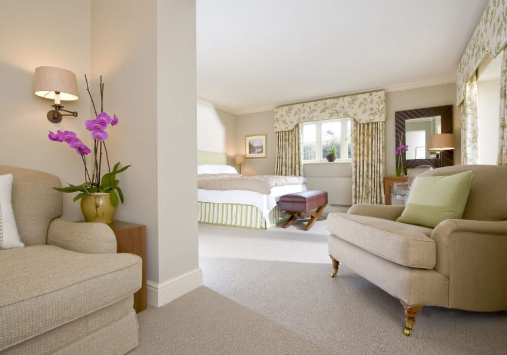 Large double room at Park House Hotel