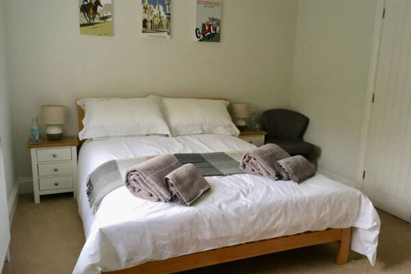 Double room at Shadycombe House