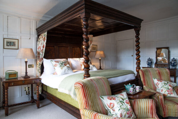 Double room at Spread Eagle Hotel