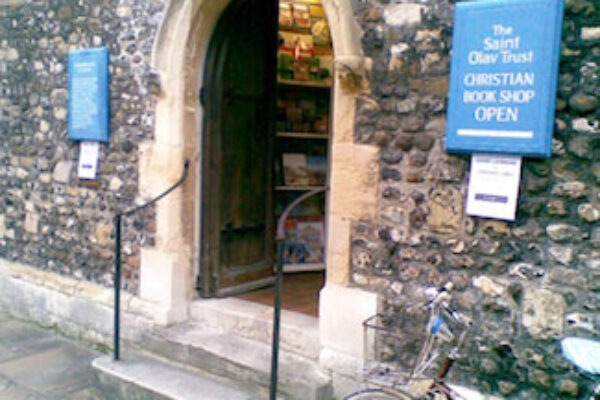 St Olav Bookshop shop front