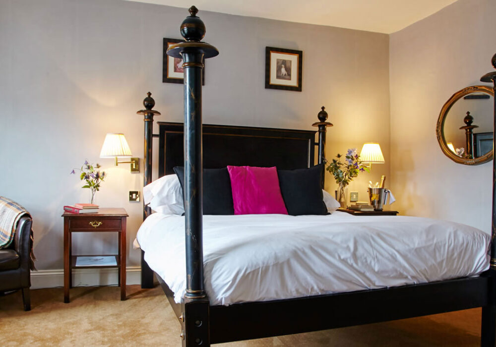 Large double room at The Angel Inn