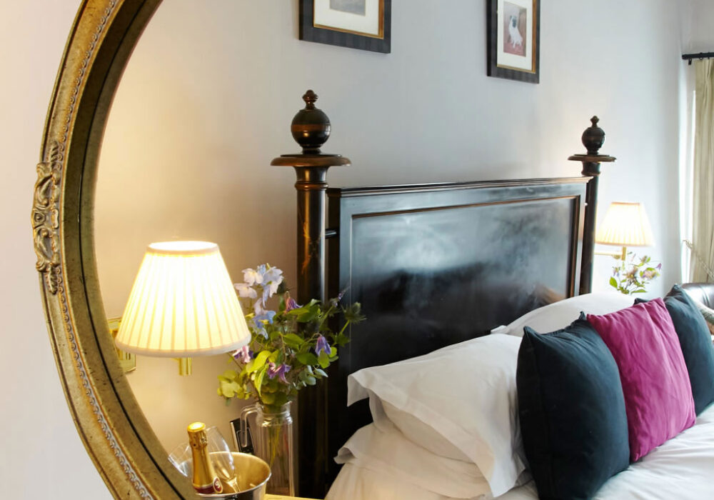 Double room at The Angel Inn