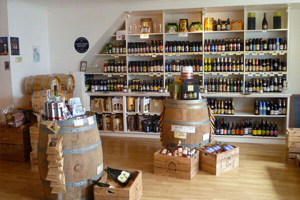 The Crafty Pint shop interior