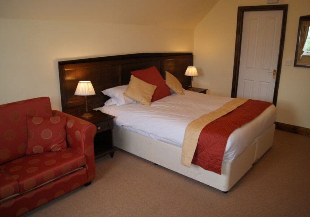 Double room at The Flying Bull
