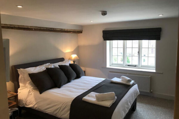 Double room at The Foresters Arms