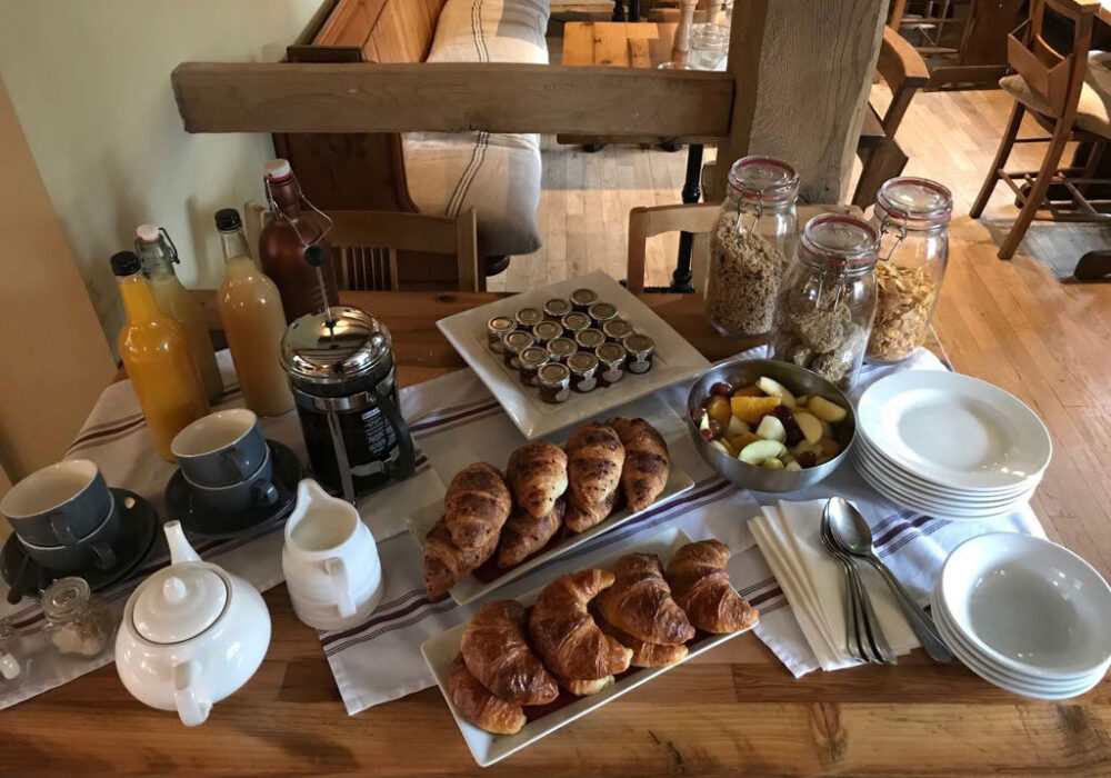 Breakfast at The Foresters Arms