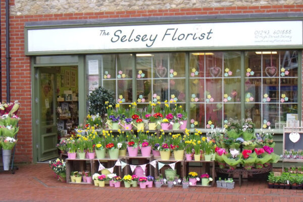 The Selsey Florist shop front