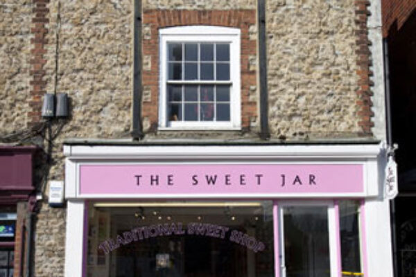 The Sweet Jar shop front