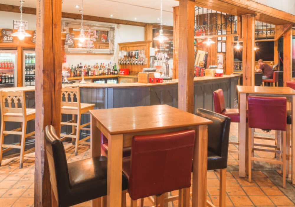 The Vestry bar and tables
