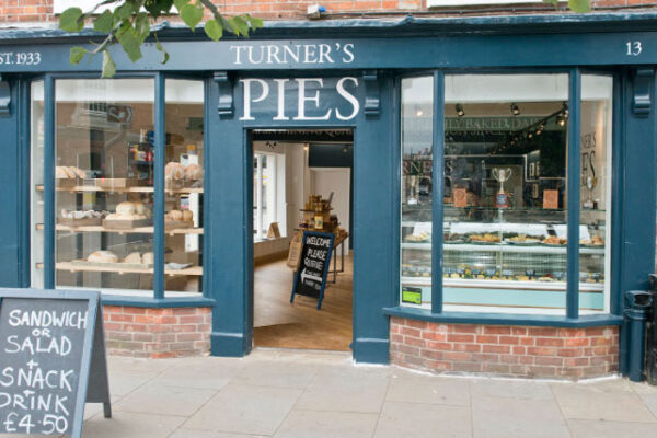 Turner's Pies shop front