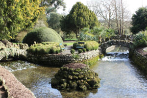 An image showing the River Lavant at West Dean Gardens near Chichester