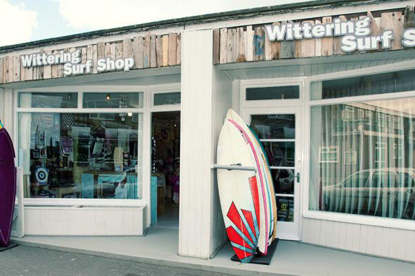 Wittering Surf shop front