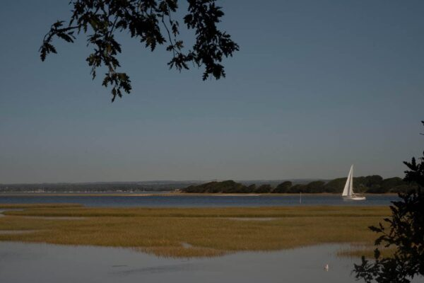 An image of Chichester Harbour from Itchenor, West Sussex
