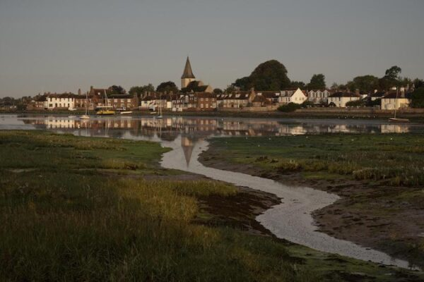 An image of the village of Bosham, West Sussex
