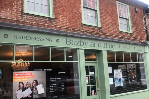 Buzby and Blue shop exterior