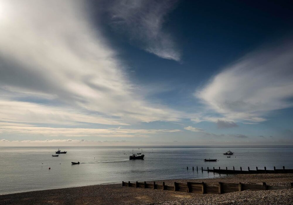 An image of Selsey's East Beach