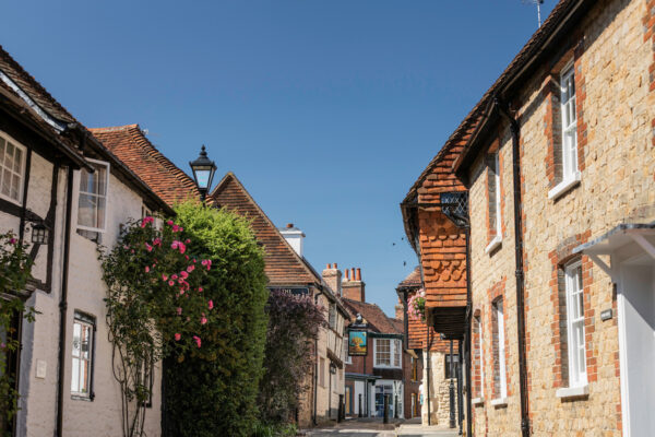 An image showing Wool Lane in Midhurst, West Sussex by Christopher Ison