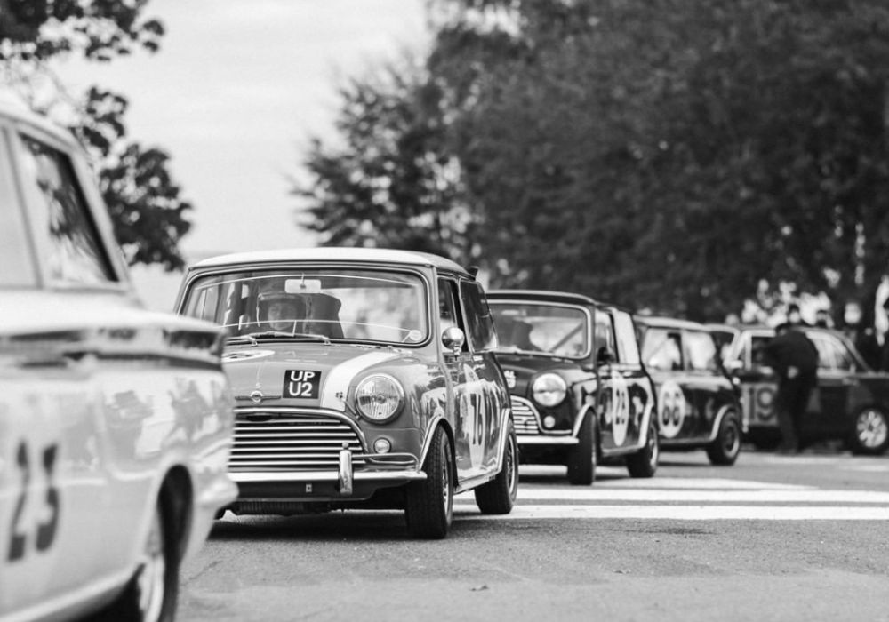 Goodwood Revival black and white