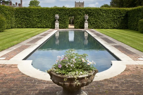 An image showing a pool at Woolbeding Gardens