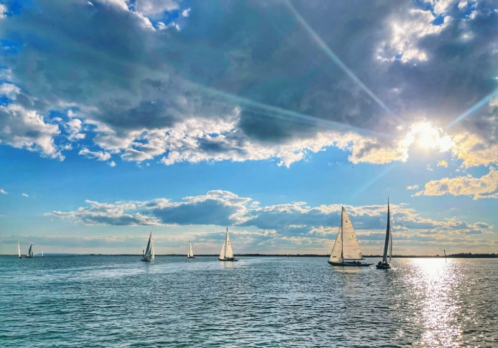 An image of boats on the sea