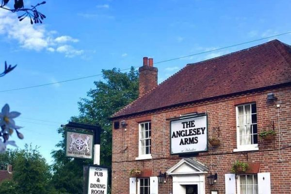 An image of the exterior of The Angelsey Arms