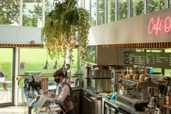 An image of Chichester Festival Theatre's Cafe on the Park