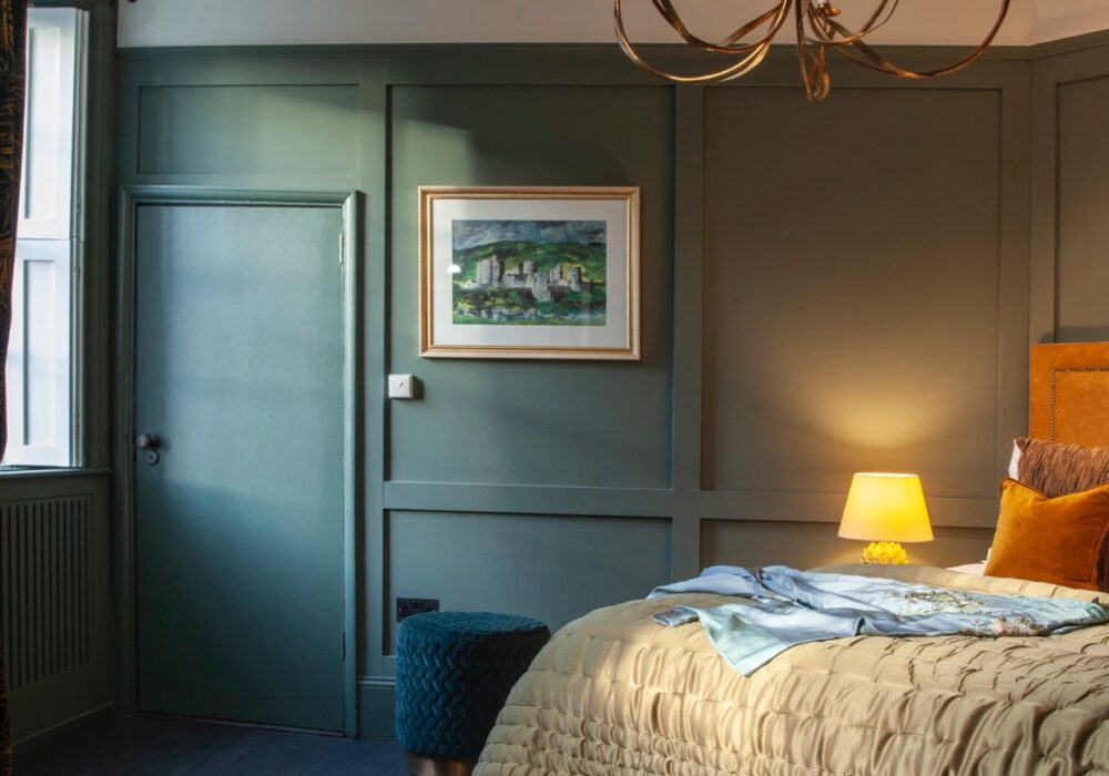 A bedroom at East House in Petworth