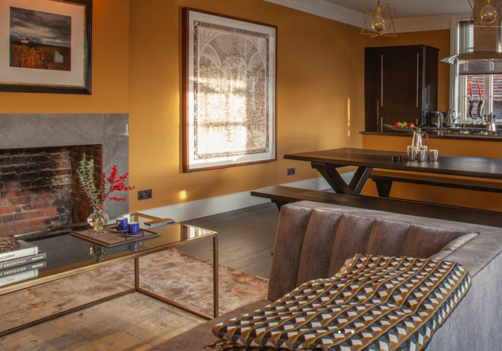 Living Space at East House in Petworth